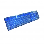 LED mechanical keyboard with dual-layer PCB