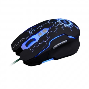 Multiple styles black cool wired gaming mouse